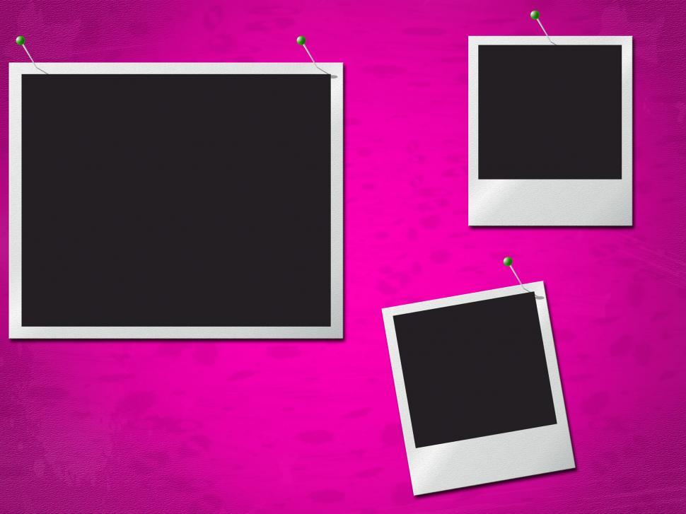 Download Free Stock HD Photo of Photo Frames Indicates Text Space And Blank Online