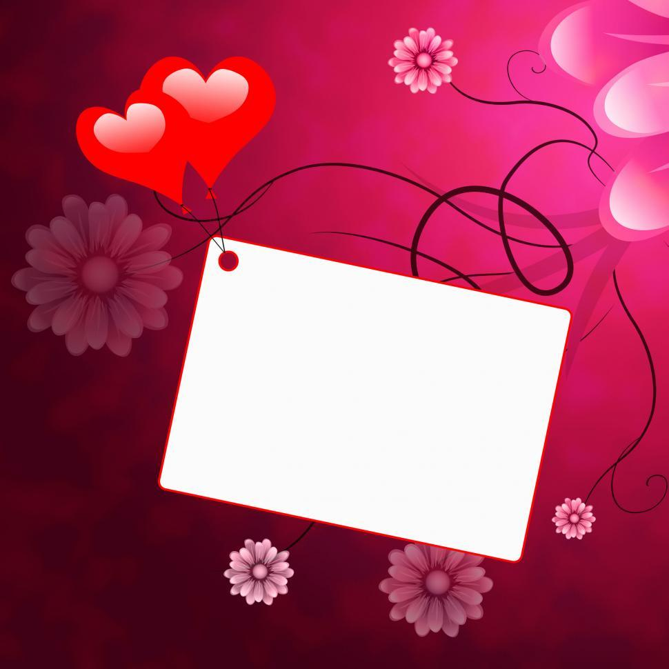Download Free Stock HD Photo of Copyspace Heart Shows Valentines Day And Copy-Space Online