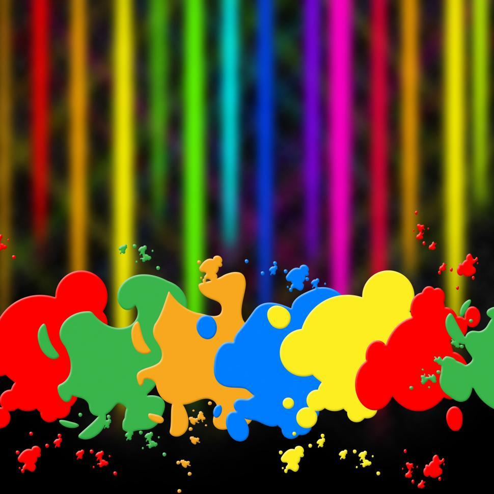 Download Free Stock HD Photo of Splash Background Indicates Paint Colors And Splattered Online