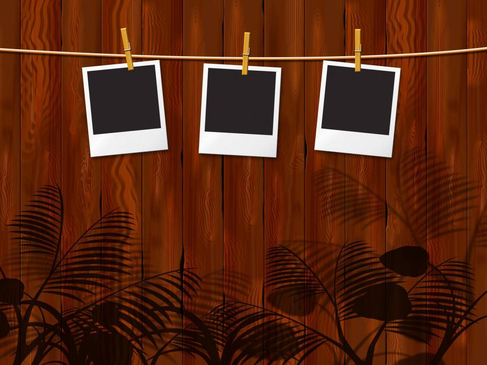 Download Free Stock HD Photo of Photo Frames Indicates Blank Space And Border Online