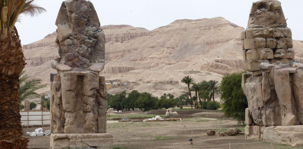 Download Free Stock HD Photo of Decaying Ancient Egyptian Ruins  Online