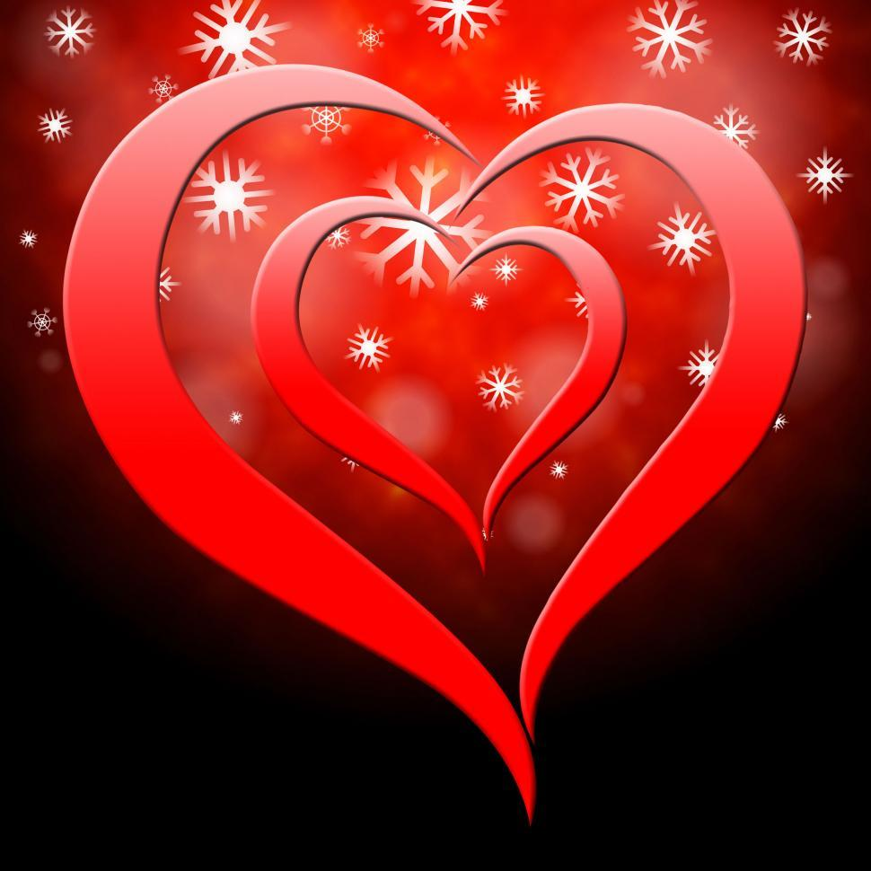 Download Free Stock HD Photo of Background Heart Represents Valentine s Day And Affection Online