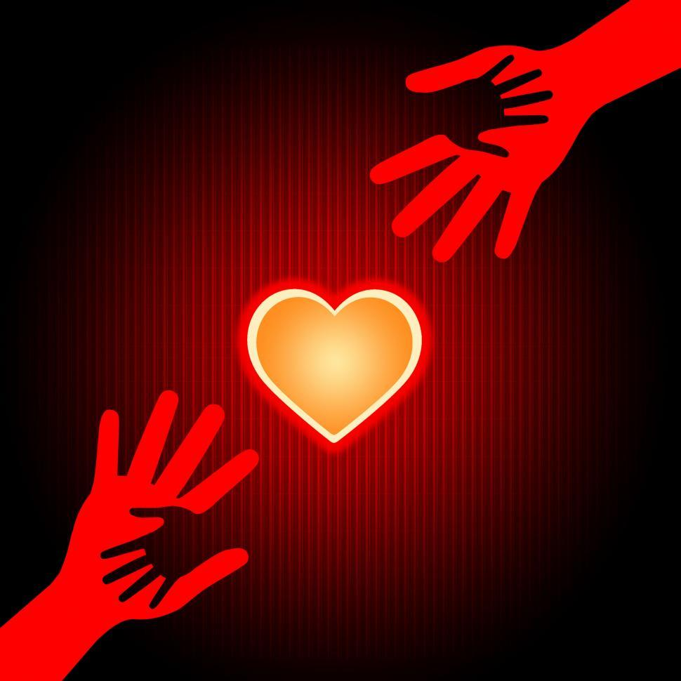 Download Free Stock HD Photo of Holding Hands Means Valentine s Day And Affectionate Online