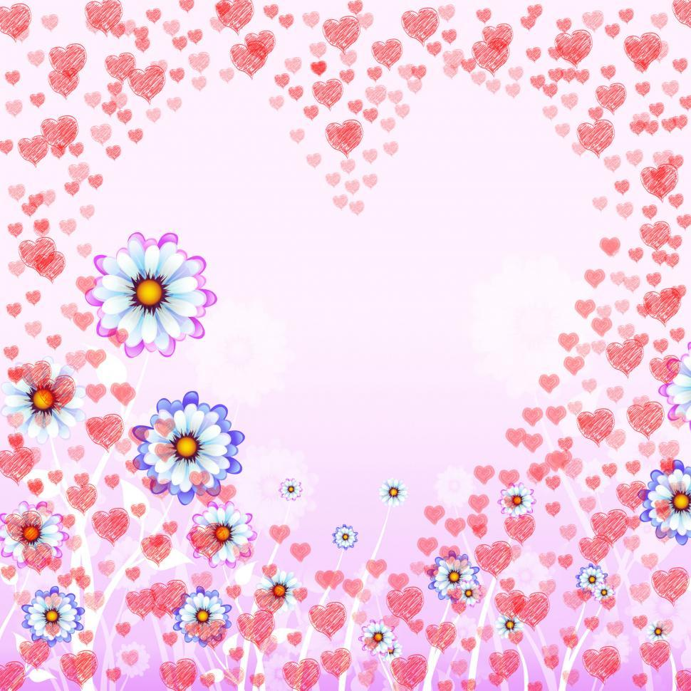 Download Free Stock HD Photo of Hearts Copyspace Represents Valentine Day And Copy-Space Online