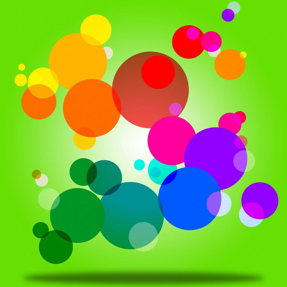 Download Free Stock HD Photo of Color Background Indicates Circles Bubble And Orb Online