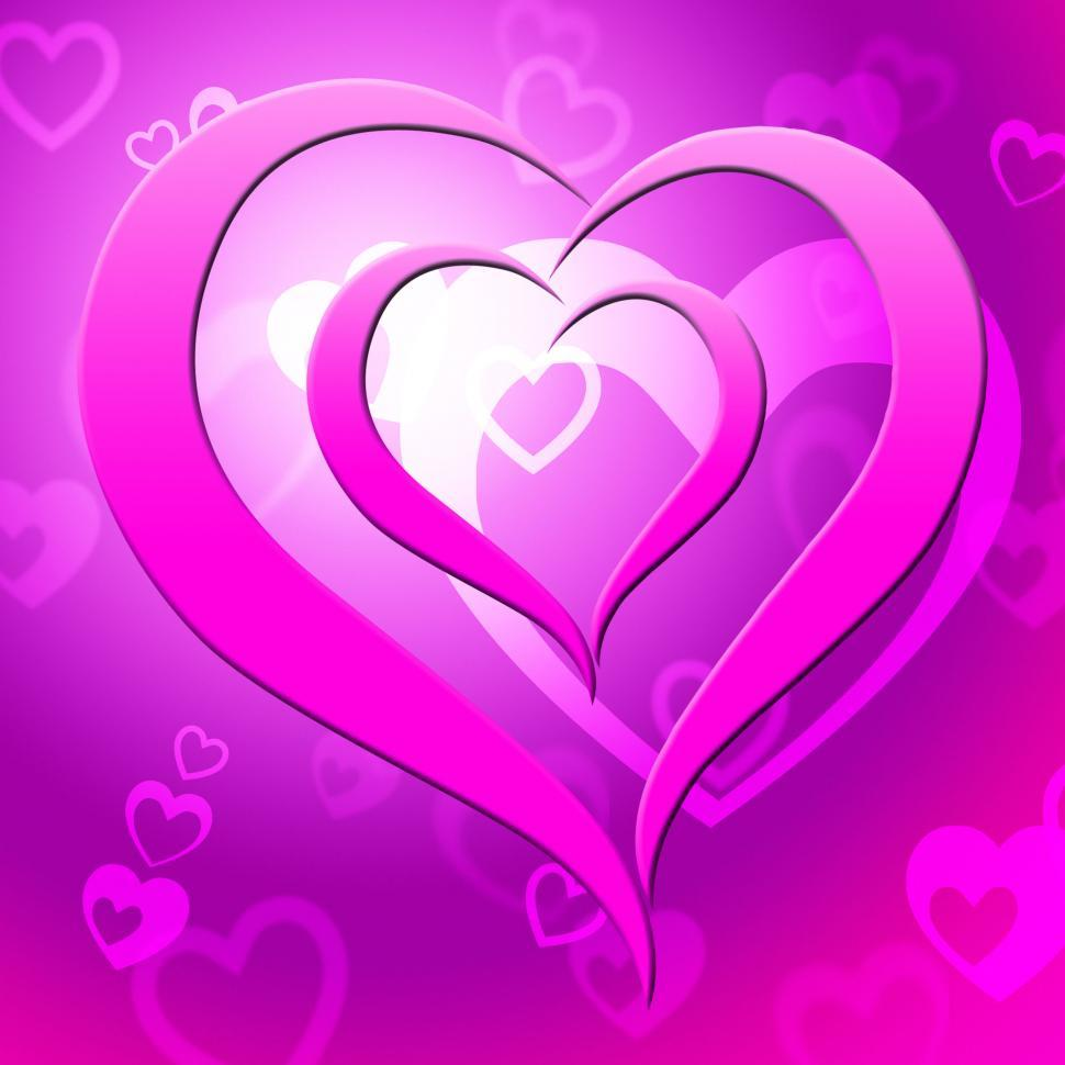 Download Free Stock HD Photo of Background Heart Represents Valentine Day And Affection Online