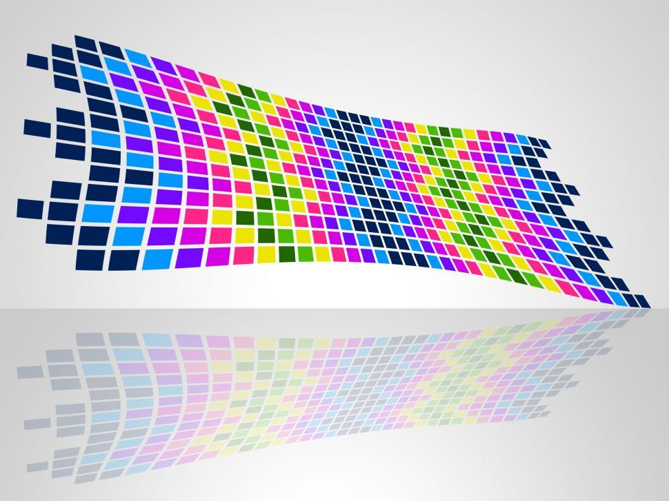 Download Free Stock HD Photo of Squares Pattern Represents Colour Colors And Artistic Online
