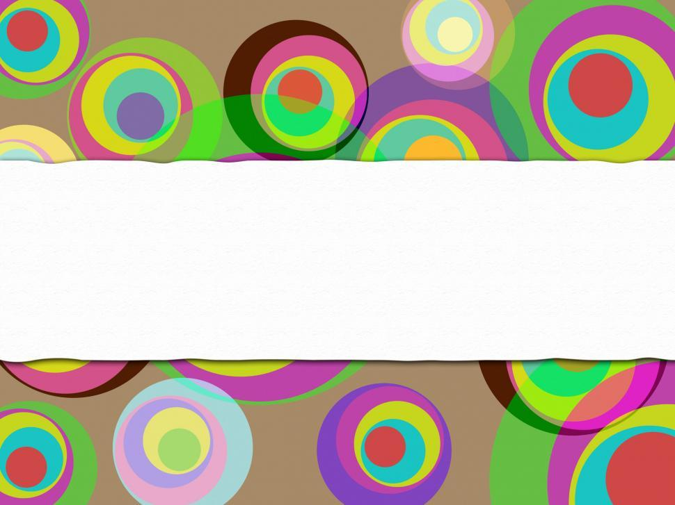 Download Free Stock HD Photo of Copyspace Circles Shows Colors Copy-Space And Spectrum Online
