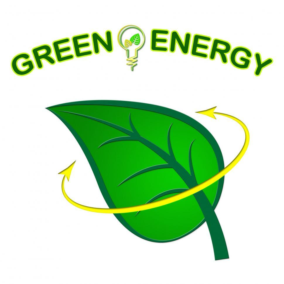 Download Free Stock HD Photo of Green Energy Shows Power Source And Ecological Online
