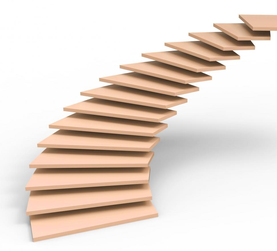 Download Free Stock HD Photo of Vision Future Represents Stairs Objectives And Ascending Online