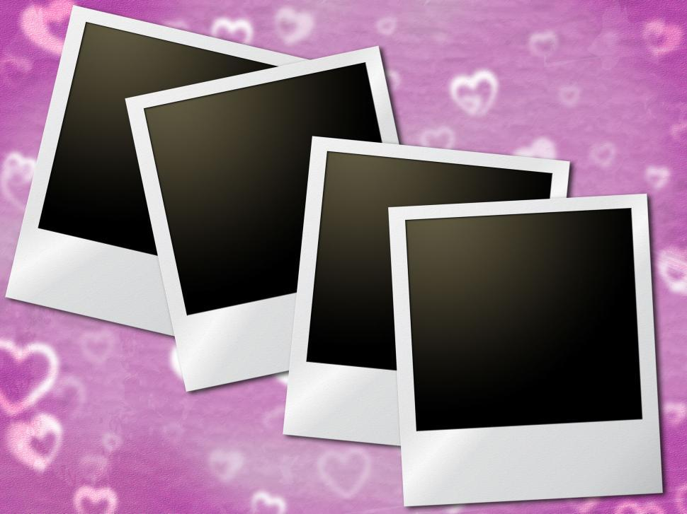 Download Free Stock HD Photo of Photo Frames Shows Text Space And Copyspace Online