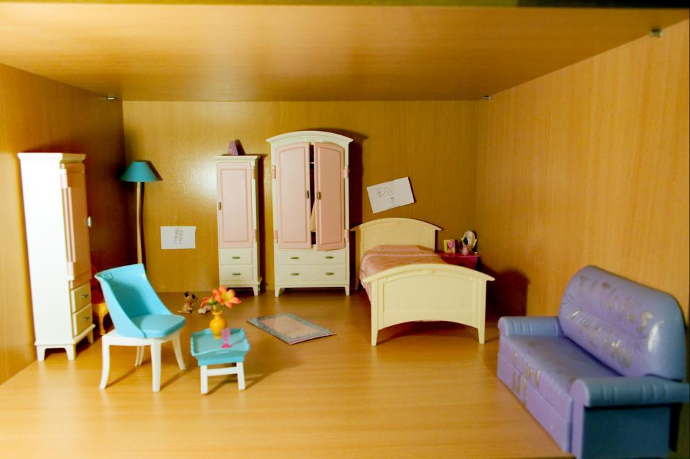 Download Free Stock HD Photo of Dollhouse room Online