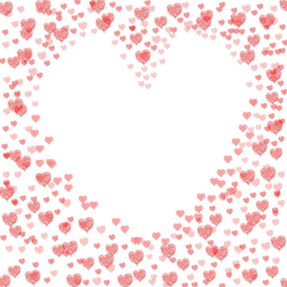 Download Free Stock HD Photo of Copyspace Love Shows Heart Shape And Compassion Online