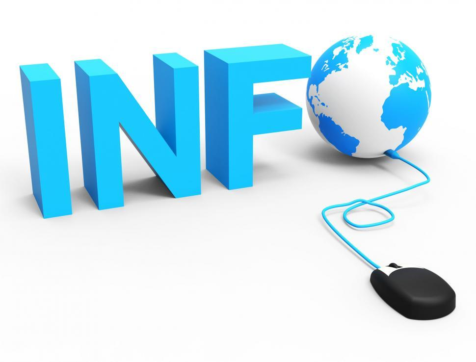 Download Free Stock HD Photo of Internet Info Represents World Wide Web And Globalize Online