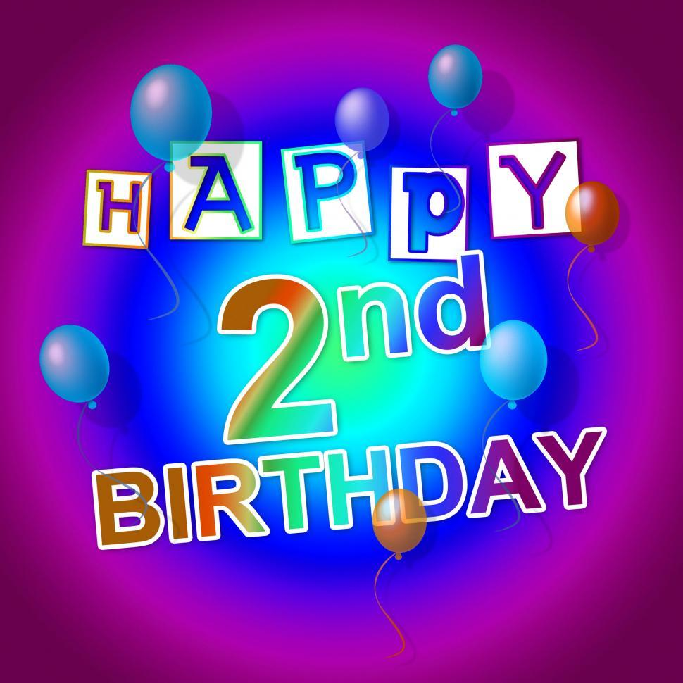Get Free Stock Photos Of Happy Birthday Represents Celebrate 2nd And
