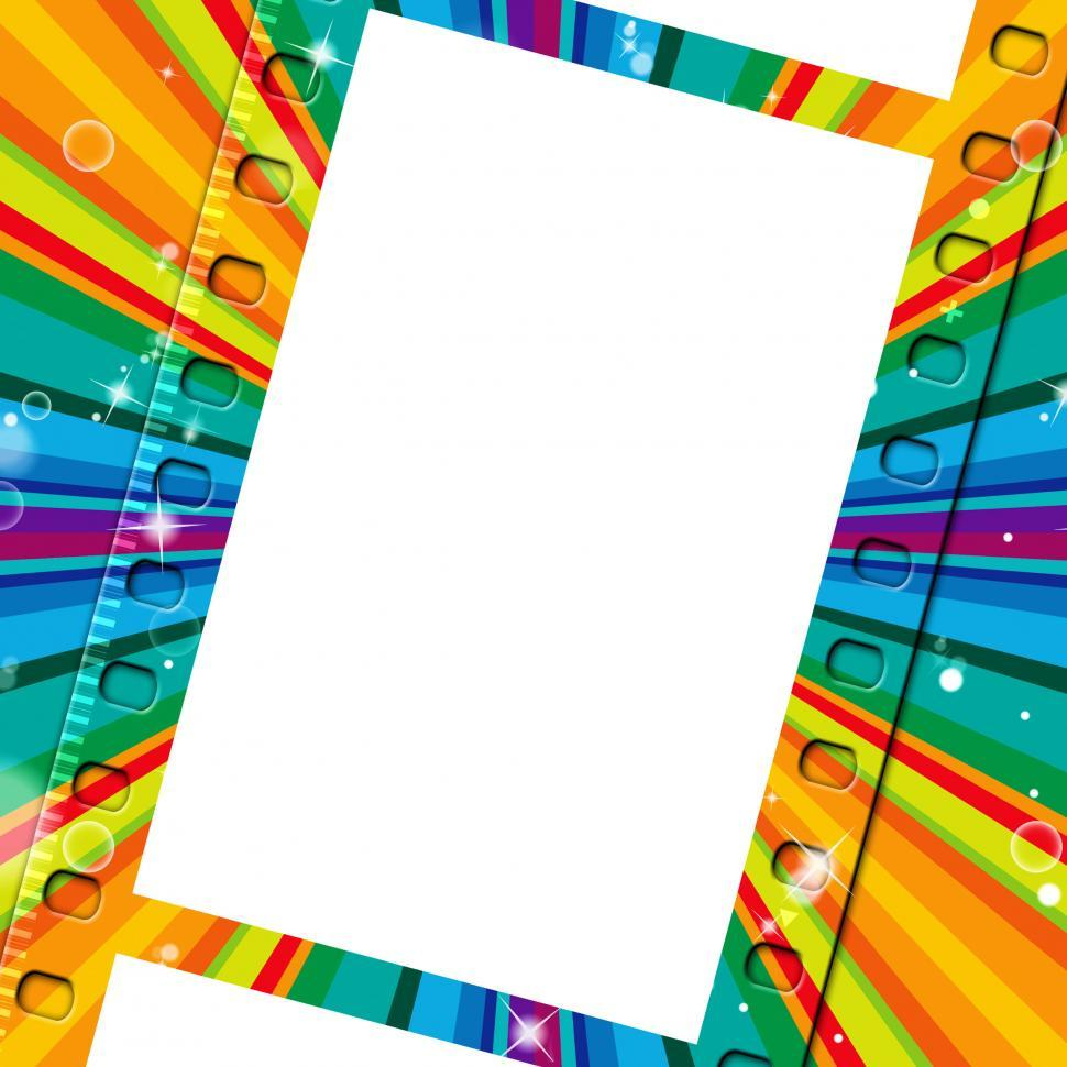 Download Free Stock HD Photo of Rays Color Means Negative Film And Border Online