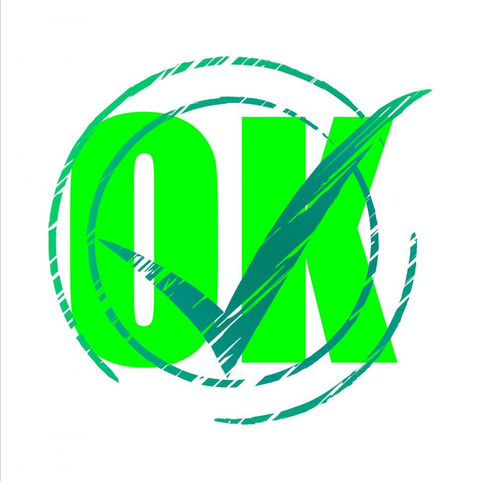 Download Free Stock HD Photo of Tick Ok Means All Right And O.K. Online