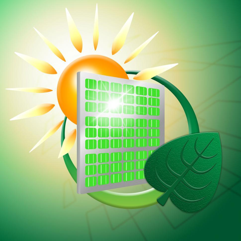 Download Free Stock HD Photo of Green Energy Represents Power Source And Electric Online