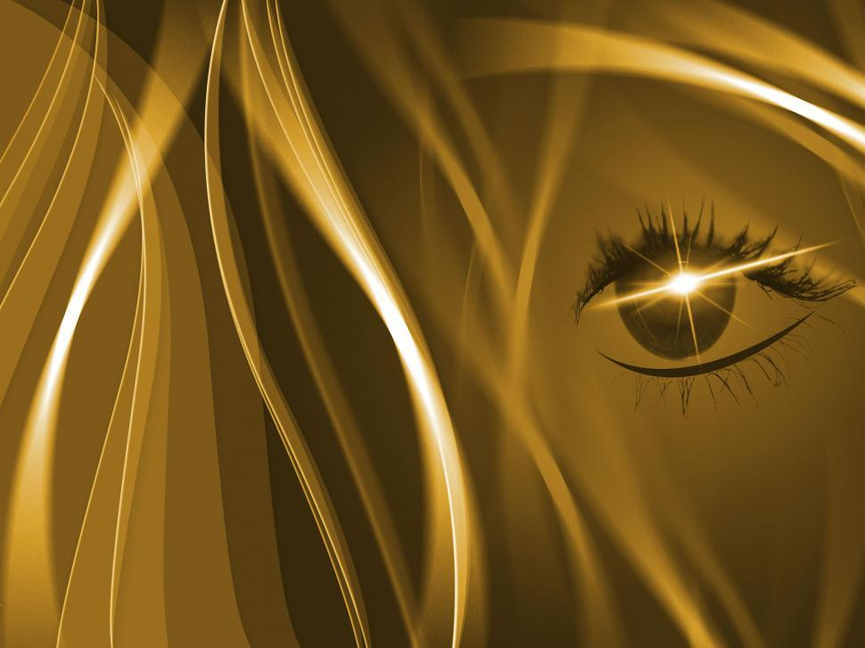 Download Free Stock HD Photo of Brown Background Shows Human Eye And Backdrop Online