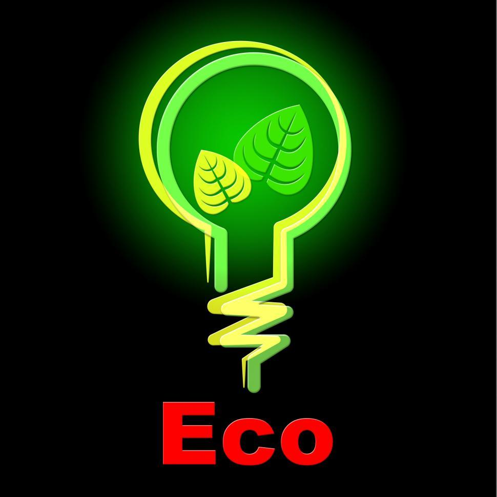 Download Free Stock HD Photo of Light Bulb Indicates Earth Day And Eco Online