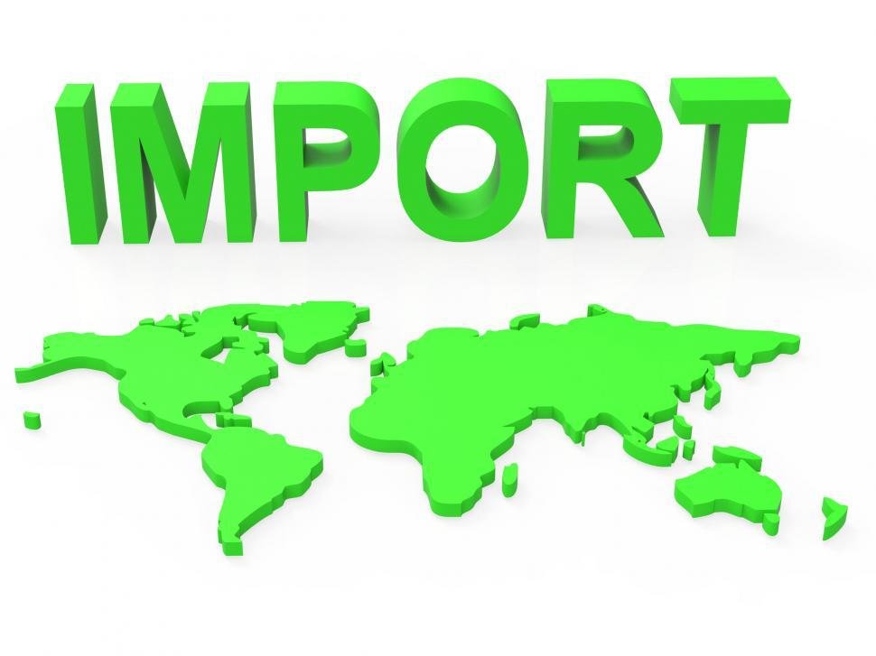 Download Free Stock HD Photo of Import Global Shows Buy Abroad And Worldly Online
