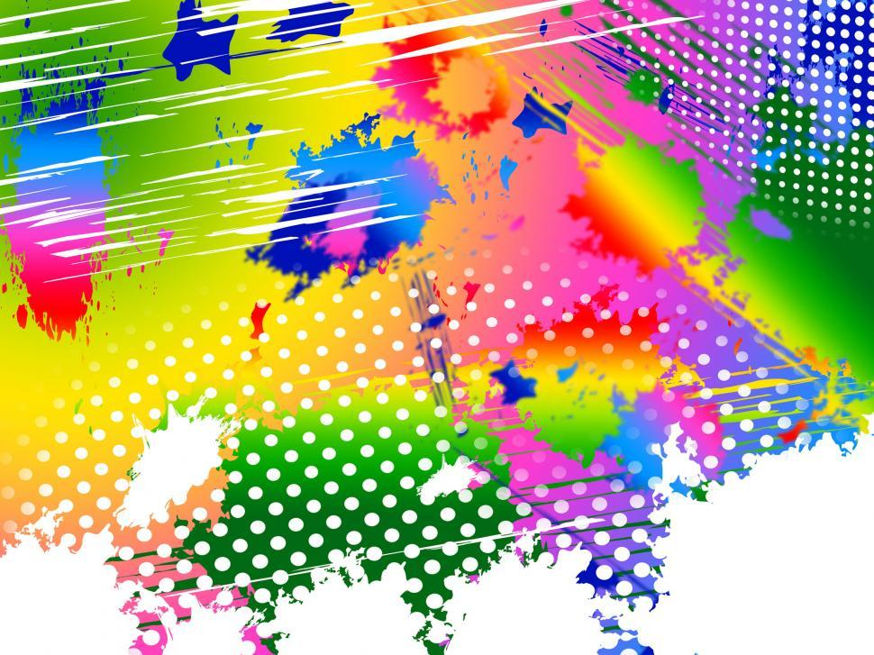 Download Free Stock HD Photo of Splash Color Indicates Paint Colors And Painting Online