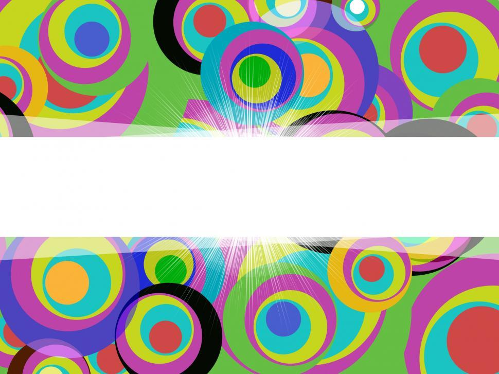 Download Free Stock HD Photo of Swirl Color Shows Text Space And Artistic Online