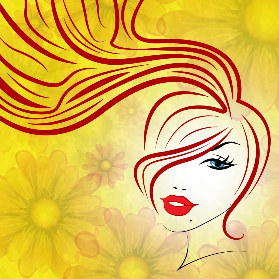 Download Free Stock HD Photo of Beauty Hair Represents Good Looking And Attractive Online