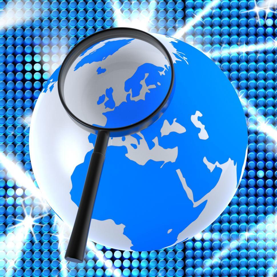 Download Free Stock HD Photo of Internet Search Represents World Wide Web And Online Online