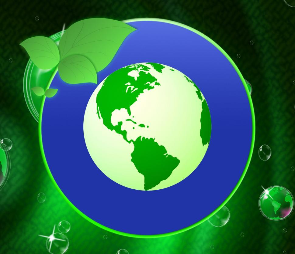 Download Free Stock HD Photo of Eco Friendly Shows Earth Day And Conservation Online
