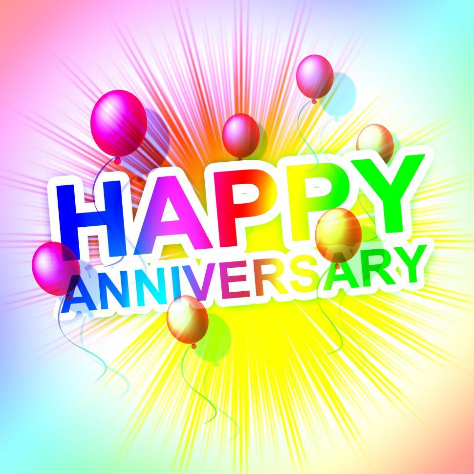 Get Free Stock Photos Of Happy Anniversary Represents Cheerful