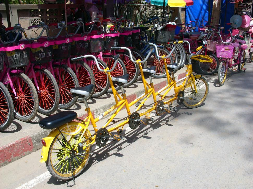 Download Free Stock HD Photo of multi-rider bike Online
