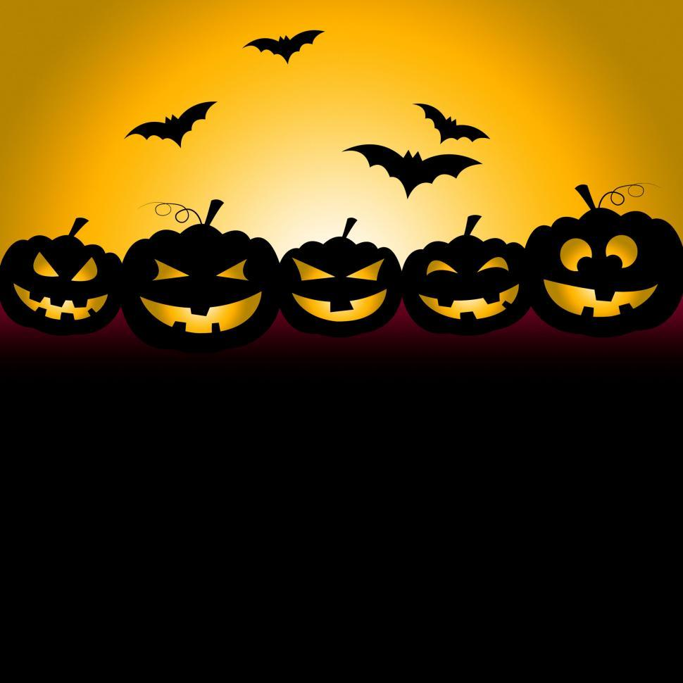 Download Free Stock HD Photo of Bats Halloween Indicates Trick Or Treat And Celebration Online