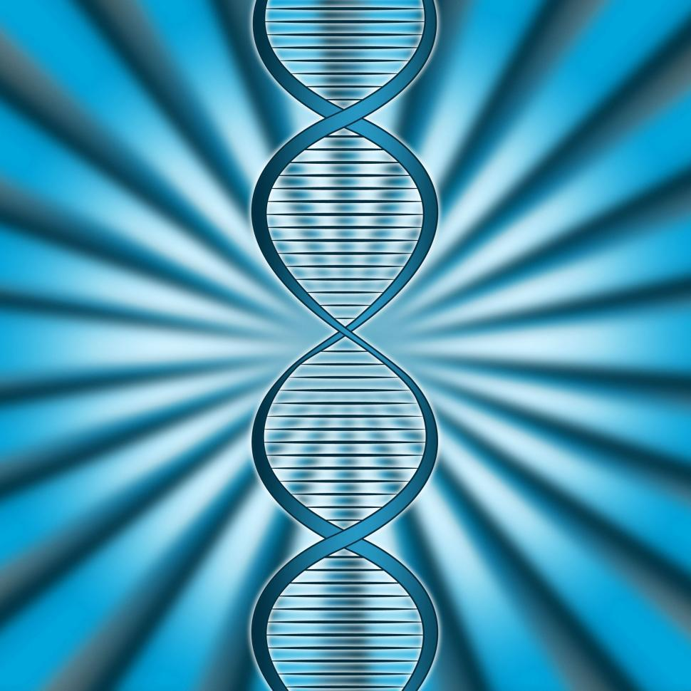 Download Free Stock HD Photo of Dna Rays Indicates Genetic Code And Beam Online