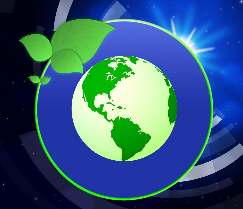 Download Free Stock HD Photo of Eco Friendly Indicates Go Green And Earth Online