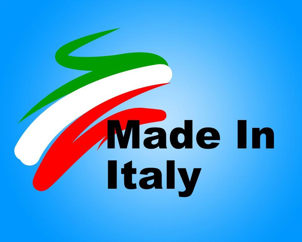 Download Free Stock HD Photo of Manufacturing Italy Means Commerce Purchase And Business Online