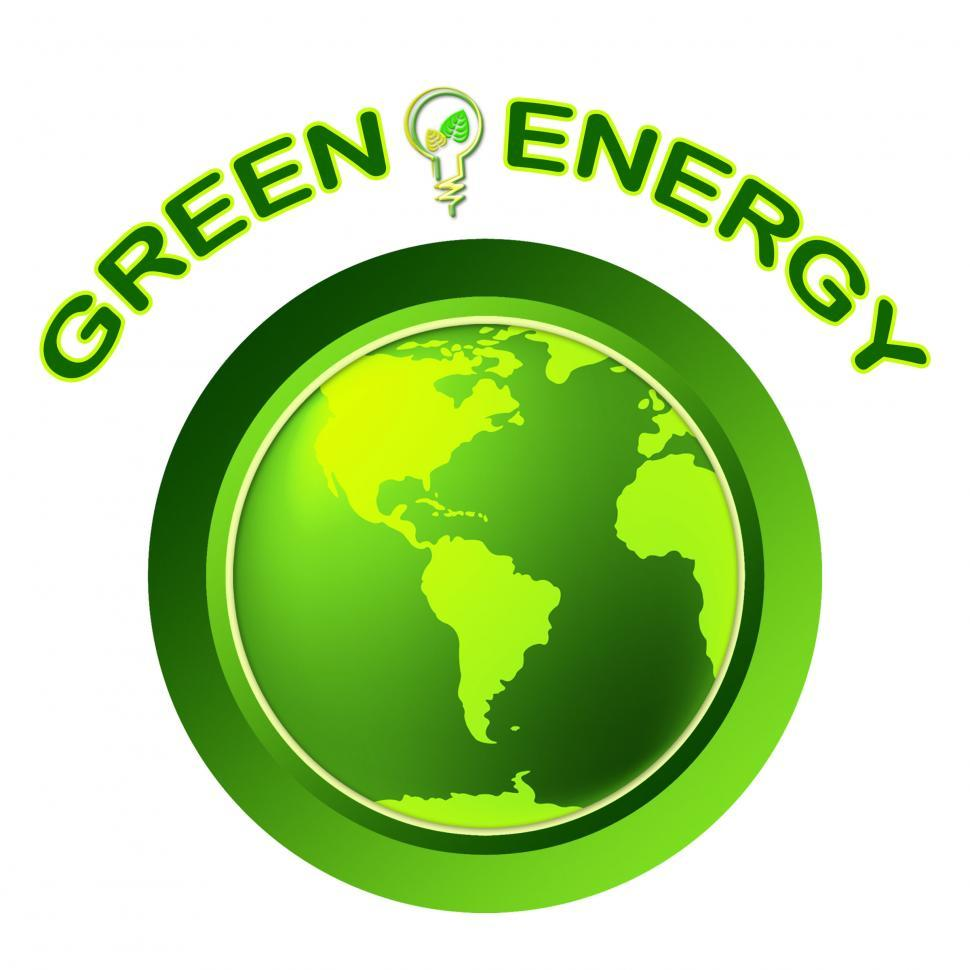 Download Free Stock HD Photo of Green Energy Shows Solar Power And Eco Online