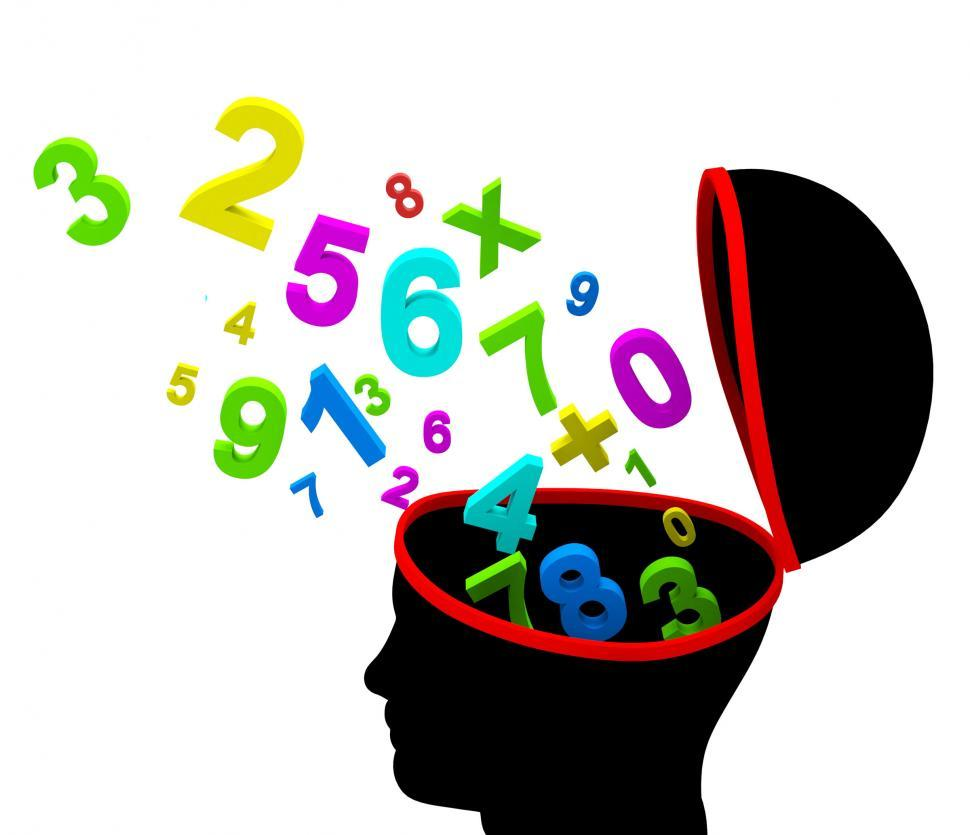 Download Free Stock HD Photo of Education Numbers Indicates Educated Tutoring And Educate Online