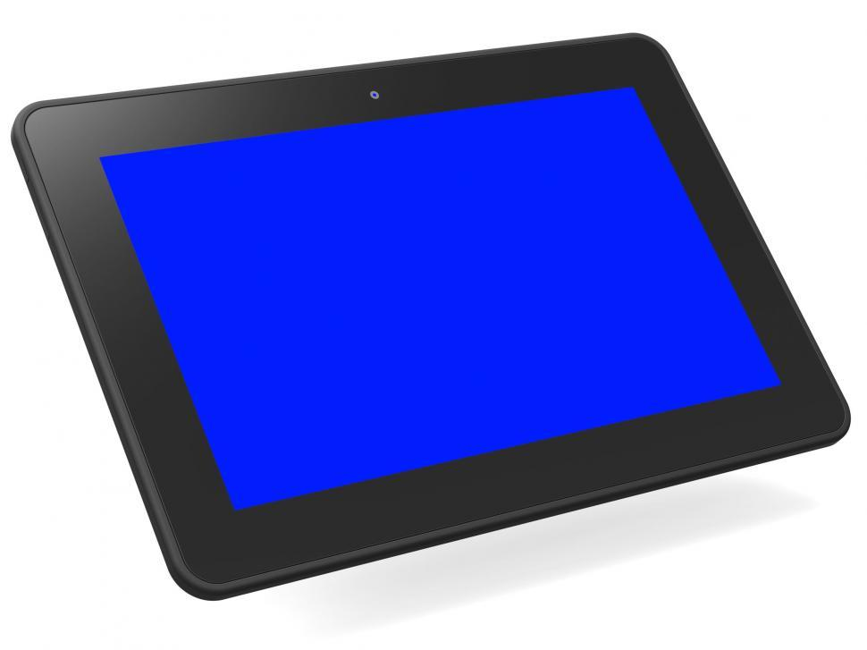 Download Free Stock HD Photo of Computer Tablet Means Blank Space And Computing Online