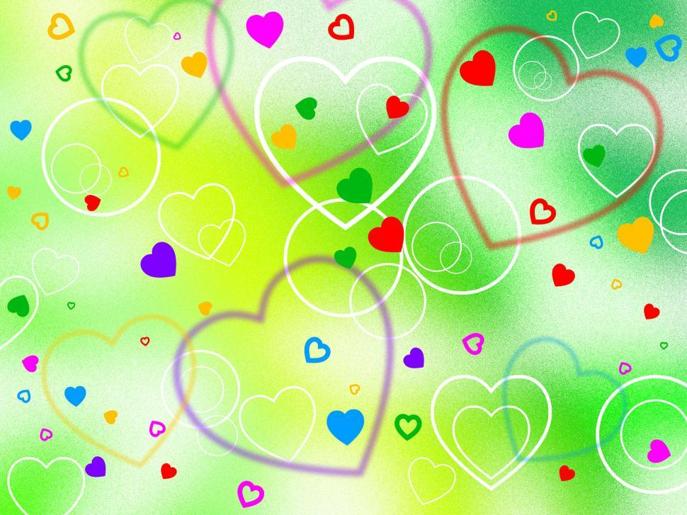 Download Free Stock HD Photo of Background Heart Shows Valentine s Day And Affection Online