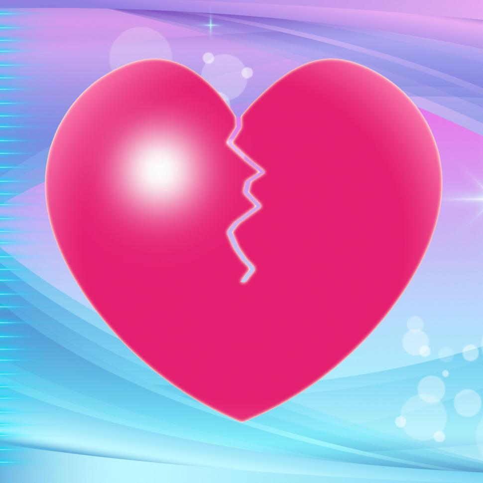Download Free Stock HD Photo of Broken Heart Represents Valentine Day And Broken-Heart Online