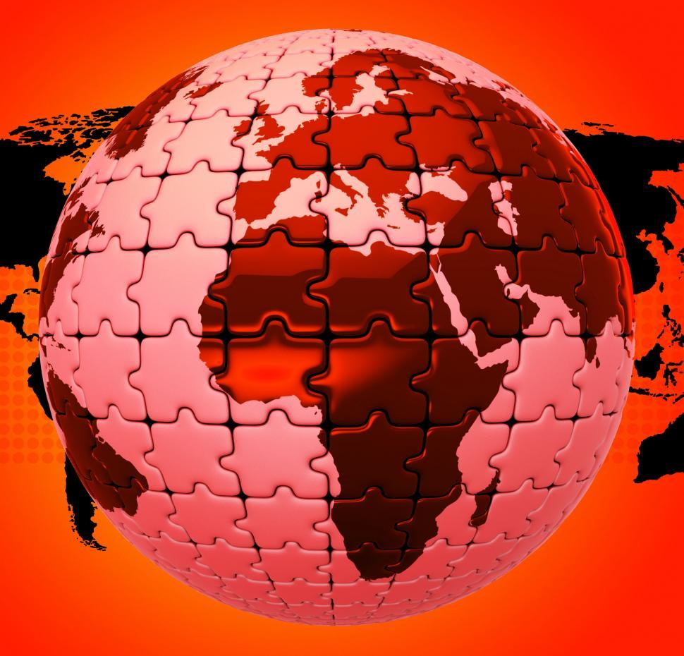Download Free Stock HD Photo of Global Warming Shows Globalise Globalization And World Online