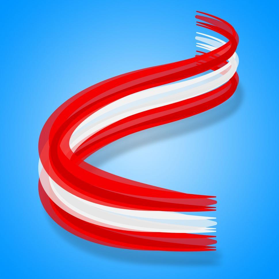 Download Free Stock HD Photo of Flag Austria Represents Patriotism European And Europe Online