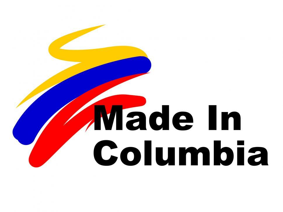 Download Free Stock HD Photo of Columbia Trade Indicates South American And Biz Online