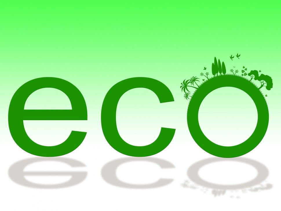 Download Free Stock HD Photo of Nature Word Represents Eco Friendly And Earth Online