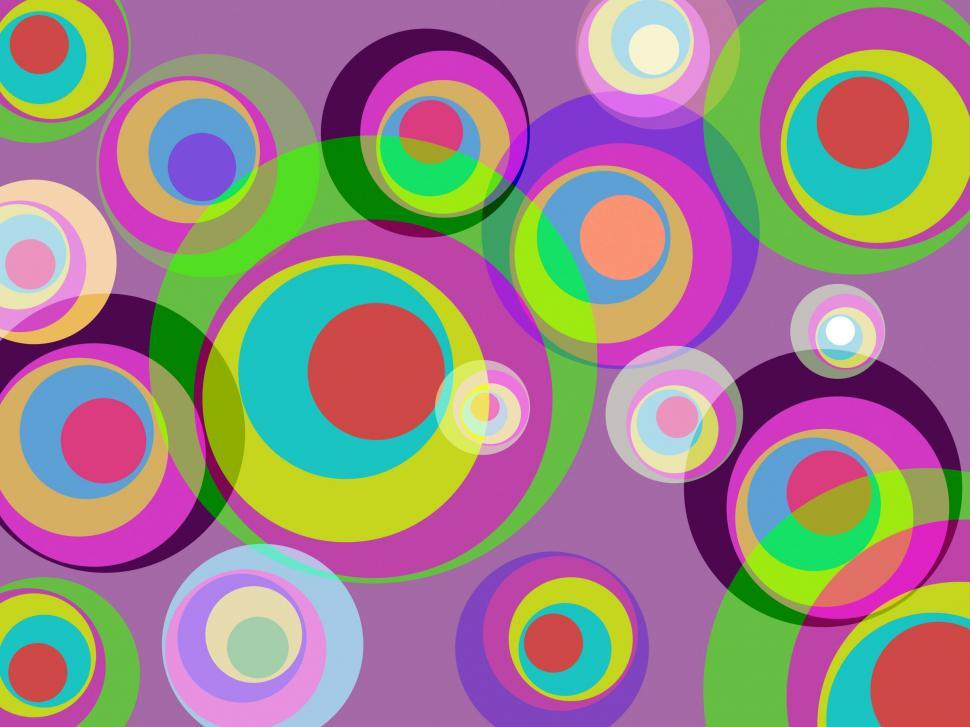 Download Free Stock HD Photo of Circles Color Represents Round Abstract And Multicoloured Online