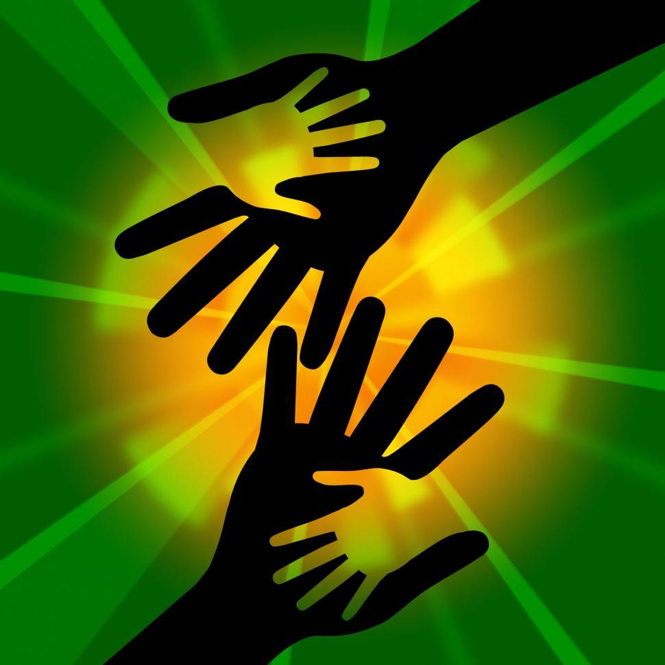 Download Free Stock HD Photo of Holding Hands Indicates Bonding Together And Mom Online
