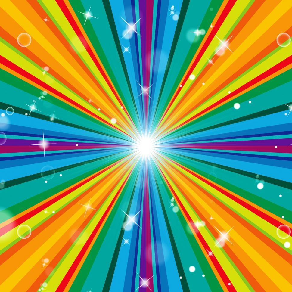 Download Free Stock HD Photo of Color Background Means Multicolored Radiate And Template Online