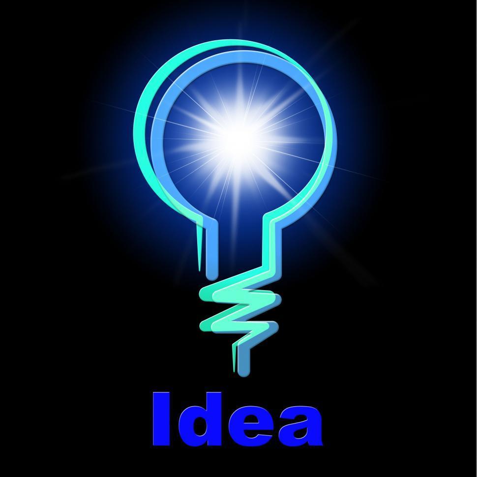 Download Free Stock HD Photo of Light Bulb Represents Lightbulb Idea And Creativity Online