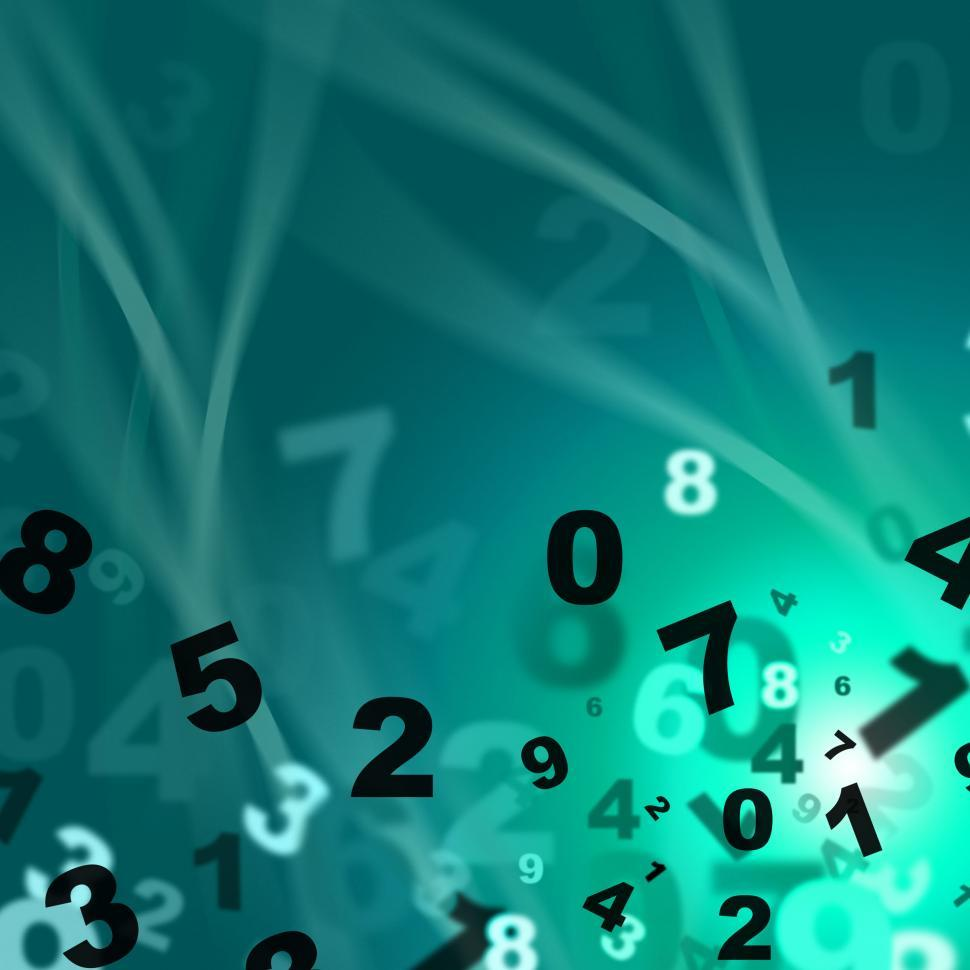 Download Free Stock HD Photo of Numbers Mathematics Means Train Educate And Learned Online